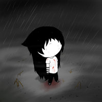 Lost in the rain by pikachu1inuyasha1
