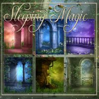 Sleeping Magic backgrounds by moonchild-ljilja