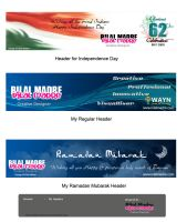 My Header themes for WAYN by MadreMedia