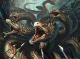 Hydra 3-D conversion by MVRamsey
