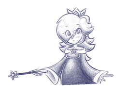 Rosalina Pencil by balitix