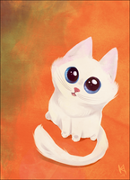 Pippa the kitten by Fjodor