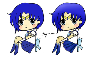 Sailor Mercury  Chibi by tiny-moon