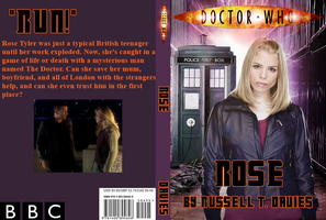 Rose Book Cover by teamfreewillangel
