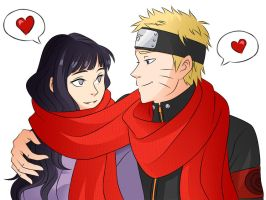 NaruHina by chrisjericholover