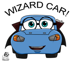 Cars: Wizard Car by Aileen-Rose