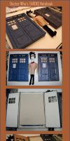 TARDIS notebook by Undercover-Crisis