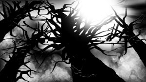 the writhing trees by Shane-D-Solomon