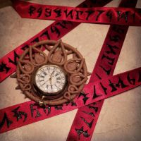 Bayonetta Umbra Watch and Ribbon by Beaupeep101