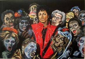 michael jackson thriller 26 by JeremyWorst