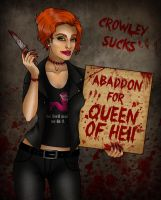 Abaddon for Queen of Hell by call-me-special