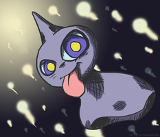 Shuppet Ascends by SometimesCats