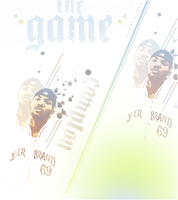 The Game flyer by HiR0SHIMA