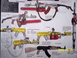 Negaduck AK-47 varriants by coonk9