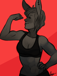 Muscle by MaryLittleRose