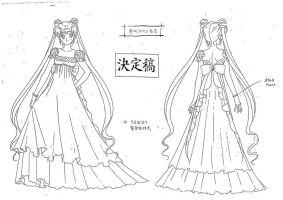 Princess Serenity Model Sheet2 by chewychomp
