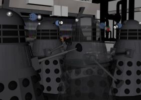 The First Invisability Test by Daleklover123
