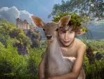 Young Faun by annewipf