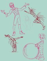 Mystere sketches by insectikette