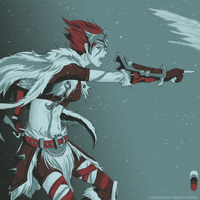 Woad Scout Quinn by Saikeishi13