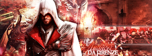 the Leader of the Brotherhood: Ezio Auditore by EvenstarArwen