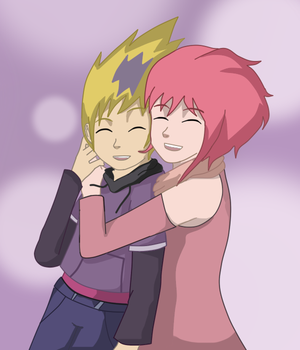 Odd And Aelita by sibred