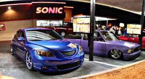 sonic cruise night by SurfaceNick