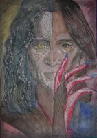 rumpelstiltskin - once upon a time by Damian-Damian