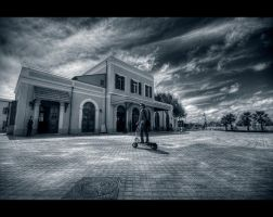 The old railway station by shaysapir