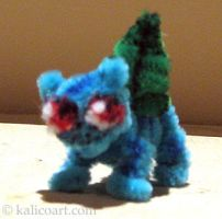 Bulbasaur Pipe Cleaners by kalicothekat