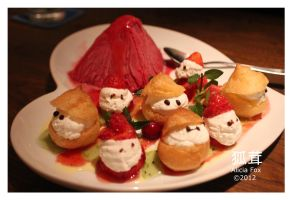 Cream puff friends by sharvani