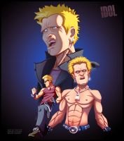 Billy Idol by ubegovic