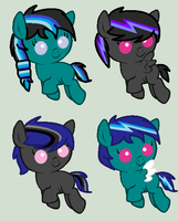 Thunder Blitz Breedable Foals (CLOSED) by iVui