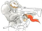 StarCraft Raynor and Kerrigan (Unfinished) by WibbitGuy