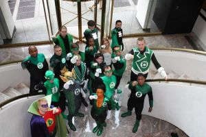 The Green Lantern Corps by Bluebird0020