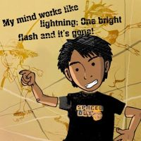 My Mind Works Like Lightning.. by kuro-inu