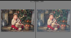 Old Fashioned Christmas Lightroom Preset by presetsgalore
