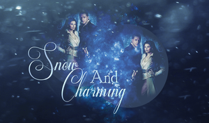 Snow and Charming by JulieeBean
