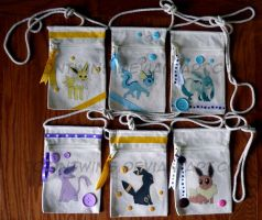 Got Canvas Bags -- Eevee Evolutions by ToonTwins
