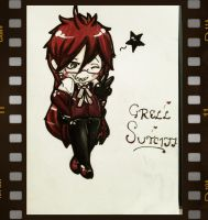 Grell chibi backroundd by Maisami-chan