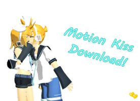 [MMD] Motion Kiss [+DL] by HatsuneeMiku005