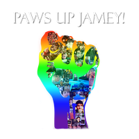 Paws Up Jamey by rin-r0