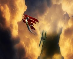 Death of the Red Baron by Lashington