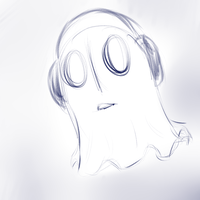UNDERTALE| Napstablook by RiddleBanshee