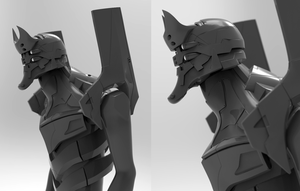 Unit-02 WIP by laloon