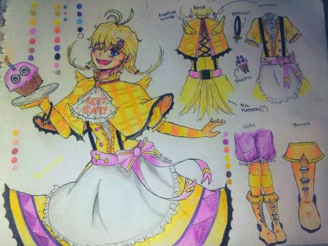 :FNAF DS Contest Entry: Chica by ReAimer