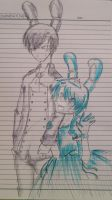 Sketch- Princess BonBon and Prince Bonnie.. by karinchan97