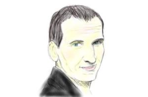 Christopher Eccleston Colour by IBelongToTheDoctor
