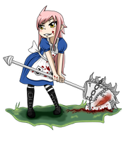 Fairy Tail OC~ Kendra-Madness Returns by KendyPun