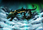 A New Sky Dragon, Rayquaza. by GrowlingDragon